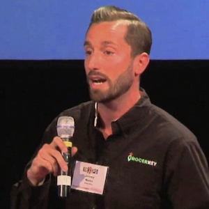 Jeremy Neren CEO GrocerKey speaking