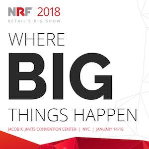 NRF Big Show logo and dates